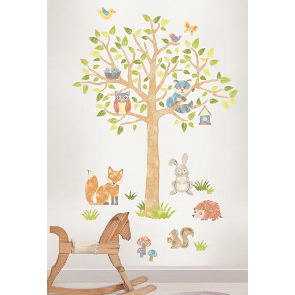 WPK1164-vinilo-infantil-de-animales-del-bosque-Wall-Pops-espana-tienda-online-0