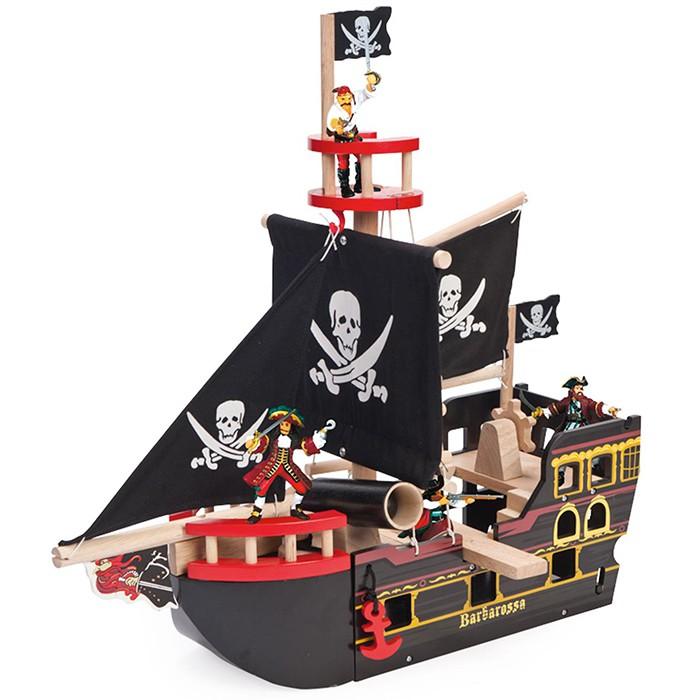Barco pirata barbarossa
