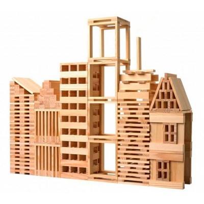 juego de construcción con maderas