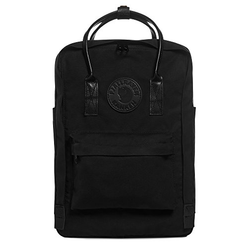 Fjallraven Kånken No. 2 Laptop 15' Black Backpack, Unisex Adulto, Talla única