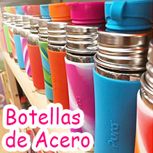 1 Botellas Acero Inoxidable