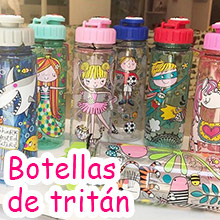 3 Botellas tritan