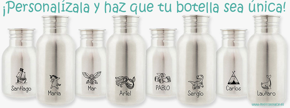 botellas personalizadas acero inoxidable